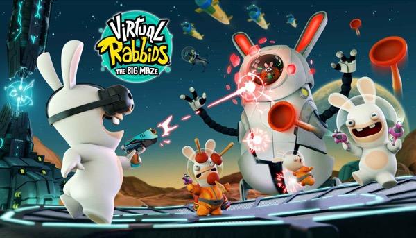 lapins crétins maze